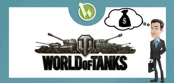 заработать денег для игры world of tanks